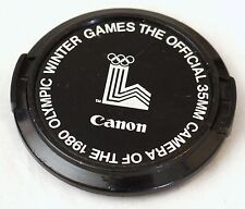 Canon 52mm Front Lens Cap - 1980 Winter Olympic Games