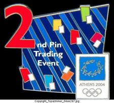 OLYMPIC PINS 2004 ATHENS GREECE 2ND PIN TRADING EVENT