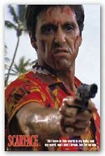 CRIME MOVIE POSTER Scarface Hawaiian Shirt