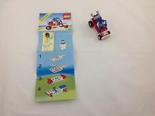 Lego 6528 Classic Town SAND STORM RACER Car Instructions Mint Condition