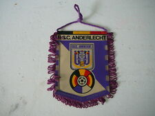 fanion football Belgique RSC Anderlecht   vintage