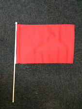 Warning Red Large Hand Flag Formula 1 One Racing Crash Safety Race F1 Team bn