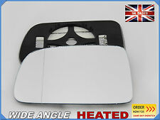 Honda CRV 1996-2006 Wing Mirror Glass Aspheric HEATED Left Side #JH005