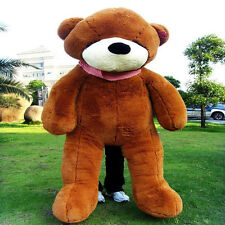 "Giant Teddy Bear-47""Plush Sleepy""Dark Brown""Teddy Bear Huge Gift  For Girlfriend"