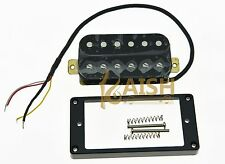 Black Alnico V Power Sound Humbucker BRIDGE Pickup Electric Guitar Pickups