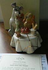 Lenox Walt Disney Lady and the Tramp Spaghetti Dinner 1st Quality NEW in Box