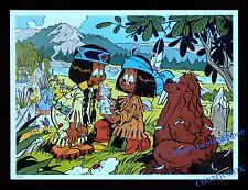 YAKARI indien Arc en ciel sioux castor AFFICHE chambre poster enfant décoration