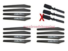 SYMA S032G S32 RC Helicopter Repair Parts 12pcs Main Blade Set+3pcs Tail Blade