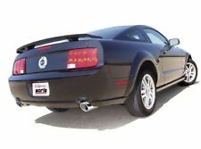 "BORLA 2005-2009 FORD MUSTANG GT 4.6L V8 / GT500 2.5"" AXLE-BACK EXHAUST SYSTEM SS"