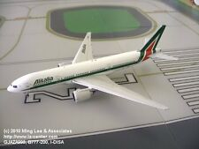 Gemini Jets Alitalia Boeing 777-200ER in New Color Diecast Model 1:400
