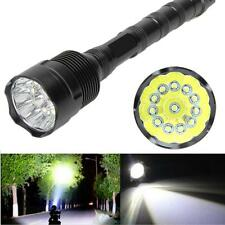 30000 Lumens 5 Mode CREE XML T6 18650 Super Bright Flashlight Hunting Torch Lamp