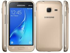BRAND NEW Samsung Galaxy J1 Mini GOLD 8GB (2016) DUAL SIM UNLOCKED SMARTPHONE