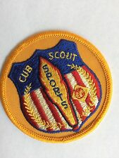 "Cub Scout *SPORTS*  Patch, 3"" - Collectible/ FREE Ship. USA"