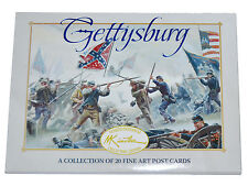 American Civil War Official Mort Kunstler Battle Of Gettysburg Prints Set