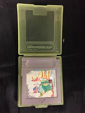 * Nintendo Gameboy Game * MARIO GOLF * Game Boy - In Case