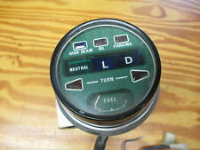 Honda CB750A hondamatic gauge indicater lights fuel used 750 motorcycle part