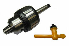 RDGTOOLS 25MM CAPACITY KEY-TYPE LATHE DRILL CHUCK 3MT 5MM-25MM WOODWORK METAL