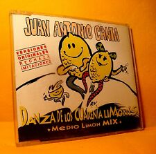 MAXI Single CD Juan Antonio Canta Danza De Los Cuarenta Limones 3 TR 1996 House
