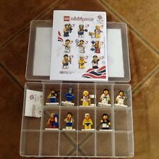 LEGO Minifigures Team GB Olympic Minifigure Full Set of 9 (8909)in Case