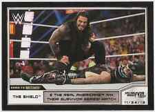 2014 Topps WWE Road to Wrestlemania #58 The Shield