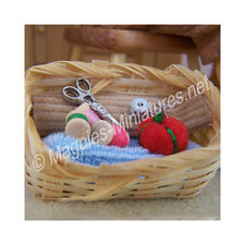 Doll House 12th Scale : Sewing Basket