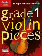 Grado 1 VIOLINO Pezzi Impara a giocare POP VIOLINO MUSICA Exam BOOK & Download Card