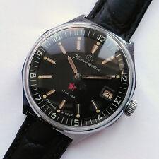 RARE! Military style Wostok (Vostok) wrist watch. Mechanical 2414A. USSR 1980s
