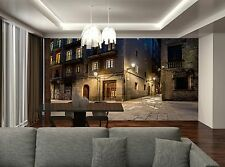 Barri Gotic at Night  Wall Mural Photo Wallpaper GIANT DECOR Paper Poster