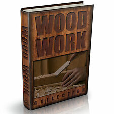 Wood work Library 173 Vintage Woodwork Books on DVD Carpentry Turning Design