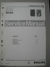 Philips 70 FB66 Lautsprecher Box Service Manual