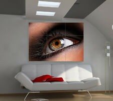 Eye+ large giant 3d poster print photo mural wall art ia053