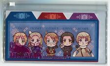Hetalia Axis Powers clear pouch bag anime USA UK Russia France China