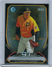 2014 Bowman Chrome Top 100 Prospects LUIS HEREDIA #91 (2758)
