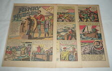 1946 four page cartoon story ~ HENRY HUDSON