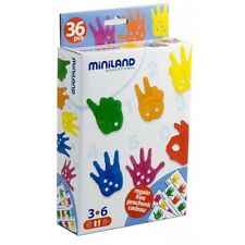 COUNTING HANDS Addition Counting PRESCHOOL Educational THREADING Lacing TOY