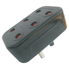 MX CONVERSION PLUG SURGE PROTECTOR 3 SOCKET MULTI PLUG BUY 1 GET 1 FREE- MX 3215