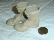21st century US light tan boots 1/6th scale toy