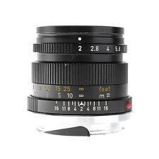 Leica 50mm f2.0 Summicron M Lens