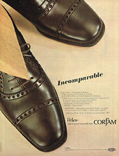 PUBLICITE ADVERTISING 025  1967  PELLET   chaussures homme  CORFAM