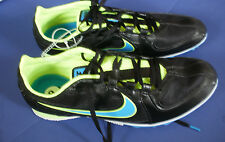 NIKE Track & Field~RIVAL MD~Black Blue Yellow Running Shoes~Men's 7.5~NEW