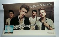 A ROCKET TO THE MOON ON YOUR SIDE GROUP BAND PHOTO 11x17 MUSIC POSTER