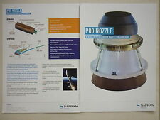 2013 DOCUMENT SAFRAN HERAKLES LE HAILLAN P80 SOLID ROCKET MOTOR NOZZLE LAUNCHER