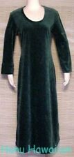 Vintage 1960's OSCAR de la RENTA Green Lounger Dress Robe - Medium