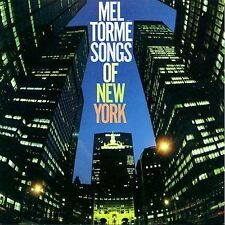 Songs of New York by Mel Torme (CD, Rhino 1983) jazz vocal album 13 tracks