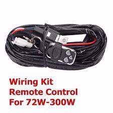 Remote Control Wiring Harness Kit Switch Relay Led Light Bar 120W 240W 288W 300W
