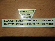 "Dinky Supertoys 982 Pullmore ""Dinky Toys Delivery Service""  Decals/Transfers 2/2"