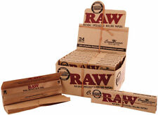 3x Boxes (x72) RAW Connoisseur King Size Slim Rolling Papers + Tips .