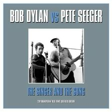 BOB & SEEGER,PETE DYLAN - THE SINGER & THE SONG 2 VINYL LP NEU