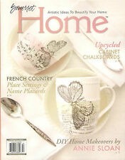 Somerset HOME Autumn 2015 DIY House Makeover French Country Place Settings Chalk