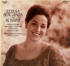 TERESA BERGANZA LP SINGS ROSSINI LONDON SYMPHONY ORCHESTRA